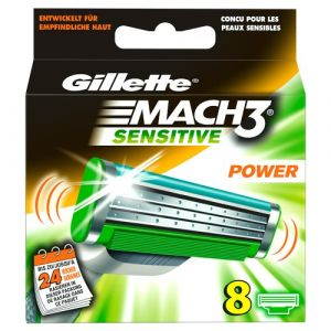 Gillette Lames de rechange Mach3 Sensitive
