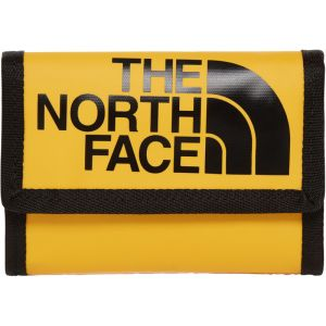 The North Face Portefeuilles Base Camp Wallet - TNF Yellow / TNF Black - Taille One Size