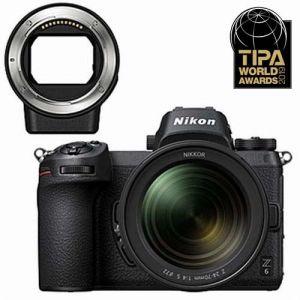 Nikon Z6 + Nikkor 24-70 mm f4 + bague d'adaptation FTZ AF