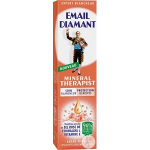 Email diamant Mineral Therapist - Dentifrice soin blancheur, protection gencives