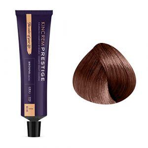 Kin Cosmetics Coloration permanente enrichie à la kératine 6.51 - Brun Chocolat, 60ml