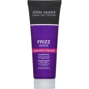 John Frieda Shampooing lisse idéal à la kératine, lutte contre les frisottis et l'humidité