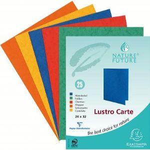 Exacompta 25 chemises dossiers Lustro Carte 225g (24 x 32 cm)