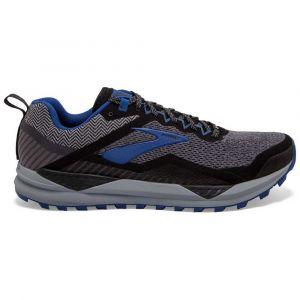 Brooks Cascadia 14 GTX, Chaussures de Running Homme, Noir (Black/Grey/Blue 053), 42 EU
