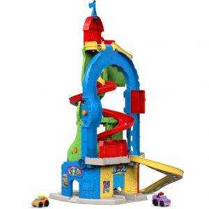 Fisher-Price Nouvelle tour des spirales Little People