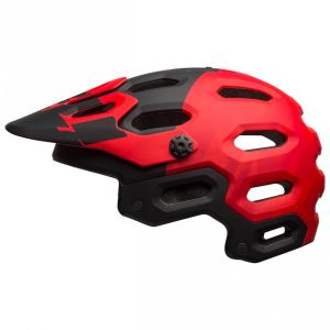 Bell Super 3 Rouge-Noir 2017 - Taille 51-55 cm
