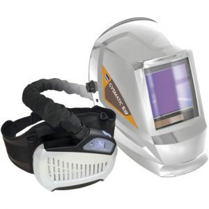 GYS Masque soudeur - protection respiratoire - LCD MATIC 5/13 AIR XXL