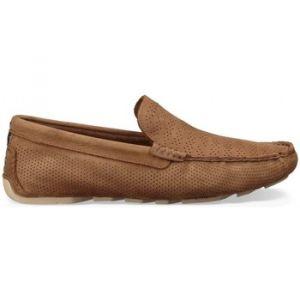 UGG australia Chaussures UGG Mocassin Henrick Stripe Perf (Tamarin) Marron - Taille 40 1/2,47,45 1/2,39 1/2
