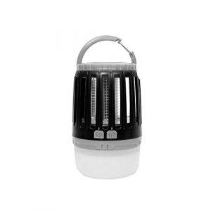 Favex Master Trap - Travel Lamp - Lampe Anti-Moustique d'extérieur et d'intérieur - Piège à moustiques - Noir - Lanterne LED - Protège jusqu'à 25 m2