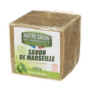 Maitre Savon de Marseille Olive - Savon de Marseille cuit au chaudron