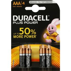 Duracell Piles LR03/AAA Plus Power