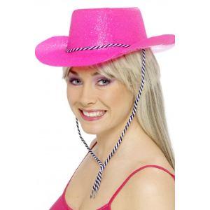 Smiffy's Chapeau cowgirl pailletté