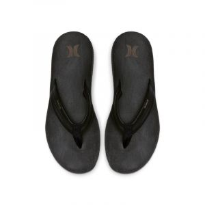 Nike Sandale en cuir Hurley Lunar pour Homme - Noir - Couleur Noir - Taille 45