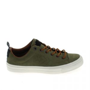 Converse Chaussures Star Player Suede Khaki vert - Taille 40
