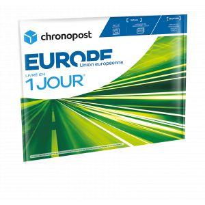 Chronopost Pochette matelassée prête à expédier en Europe - Livraison 1 jour - 1 kg
