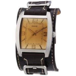 Guess W0186G - Montre pour homme avec bracelet en cuir