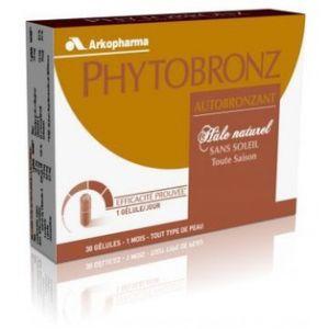 Arkopharma Phytobronz - Autobronzant hâle naturel, 30 gélules