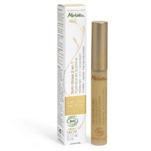 Melvita Apicosma - Soin gloss lèvre de miel