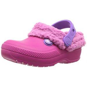 Crocs Classic Blitzen Iii Clog, Sabots Mixte Enfant, Rose (Candy/party Pink) 28/29 EU