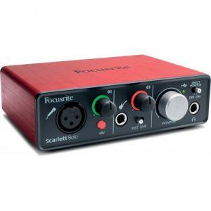 Focusrite Scarlett2 Solo - Interface audionumérique USB Scarlett 2nd Generation