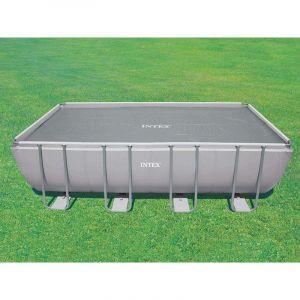 Intex Bâche à bulles renforcée pour piscine tubulaire rectangulaire 4,57 x 2,74 m