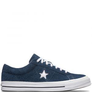 Converse Lifestyle One Star Ox, Sneakers Basses Mixte Enfant, Bleu
