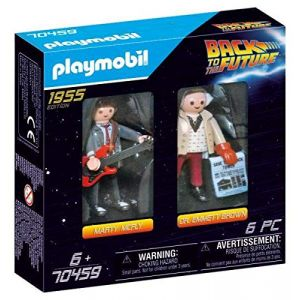 Playmobil 70459 - Back to the Future Marty et Dr.Brown