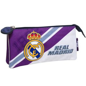 Trousse scolaire double Real Madrid Club