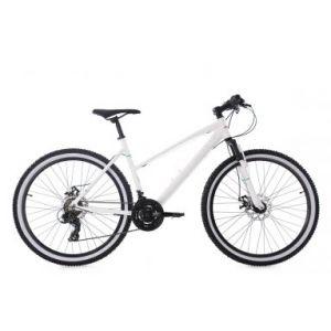 KS Cycling Vtt femme semi rigide larrikin 26 shimano tourney 7v blanc 48 cm 155 165 cm