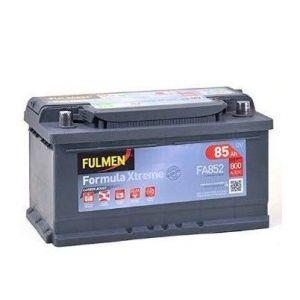 Fulmen Batterie de demarrage 12V 85Ah 800A Formula Xtreme FA852