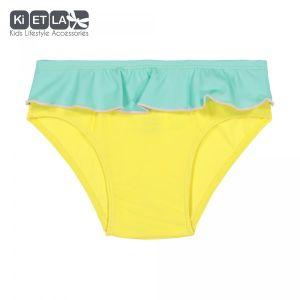 Ki ET LA Maillot de bain culotte anti-UV Annette yellow (6 mois)