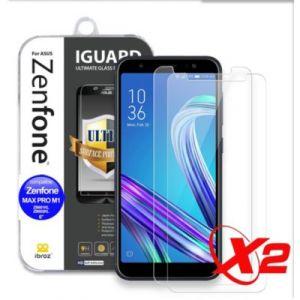 Ibroz Protège écran ZenFone 4 Max M1 Verre trempé x2