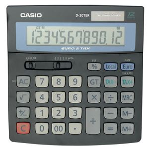 Casio D-20TER - Calculatrice financière