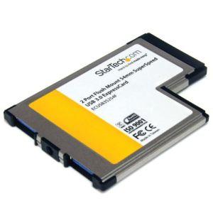 StarTech.com ECUSB3S254F - Carte Adaptateur ExpressCard/54 vers 2 Ports USB 3.0 Encastré