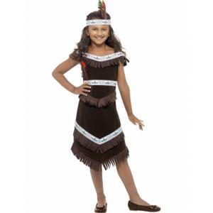 Déguisement Enfant Indienne Taille 4/6 Ans