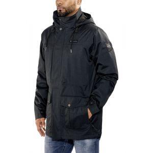 Columbia Homme Veste de Pluie Imperméable, Horizons Pine Interchange Jacket, Polyester, Noir, Taille XXL, 1625221