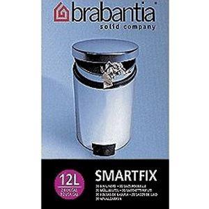 Brabantia 20 sacs poubelle avec poignées (12 L)