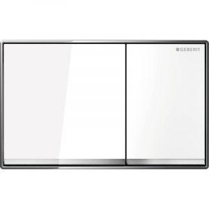 Geberit Plaque de déclenchement OMEGA60 blanc (115.081.SI.1)