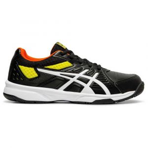 Asics Baskets Court Slide Gs - Black / White - Taille EU 34 1/2