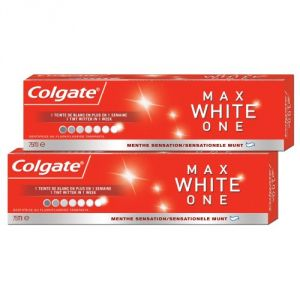 Colgate Maxwhite One - Dentifrice 75 ml Lot de 2