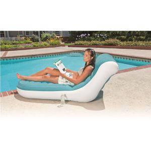 Intex Splash chaise gonflable Bleu 170 x 84 x 81 cm