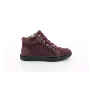 Kickers Lyluby, Sneakers Haute Fille, Violet, 30