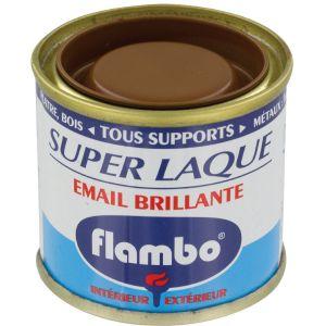 Flambo Laque brillante - 50 ml - Ton bois