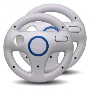 Furi 2x Volants de Course pour Nintendo Wii - Blanc