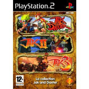 Collection Jak et Daxter - Jak and Daxter + Jak II : Hors la Loi + Jak 3 sur PS2