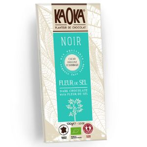 Kaoka Chocolat noir 70% Fleur de Sel 100g