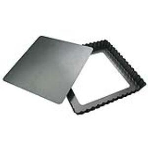 De Buyer 4709.23 - Moule à tarte carré démontable (23 cm)