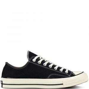 Converse Taylor Chuck 70 Ox, Sneakers Basses Mixte Adulte, Noir Black/Egret 001, 43 EU