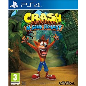 Crash Bandicoot N.Sane Trilogy sur PS4
