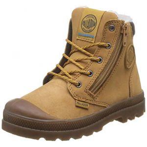 Palladium Boots enfant PAMPA HI CUFF WPS Marron - Taille 29,31,32